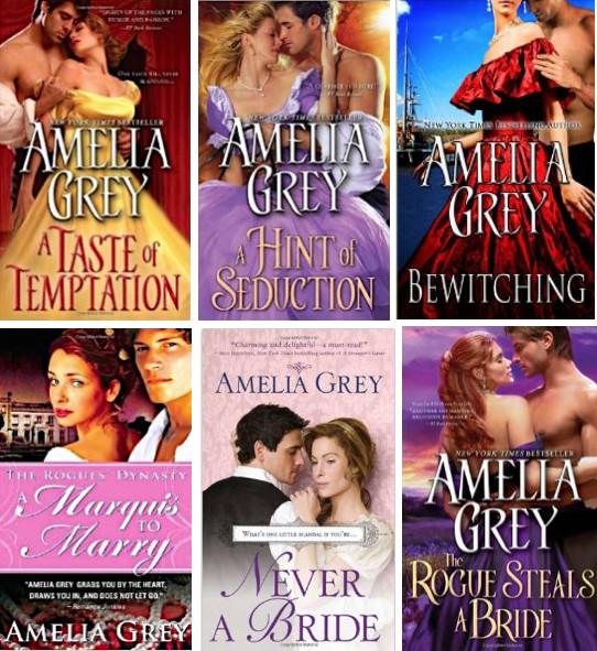 AmeliaGrey novels