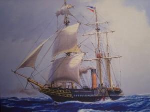 Ocean Cruising in Bygone Days