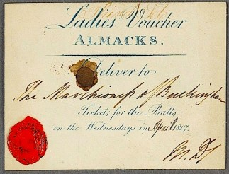 almacks voucher