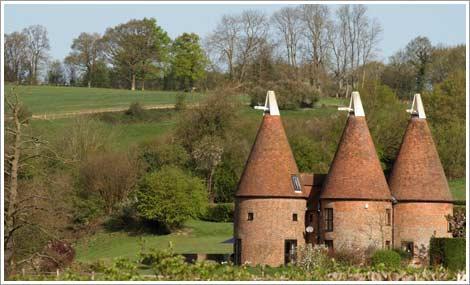 oast-houses