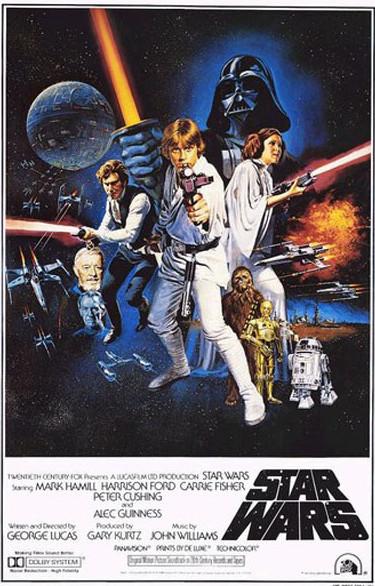 star wars saber poster