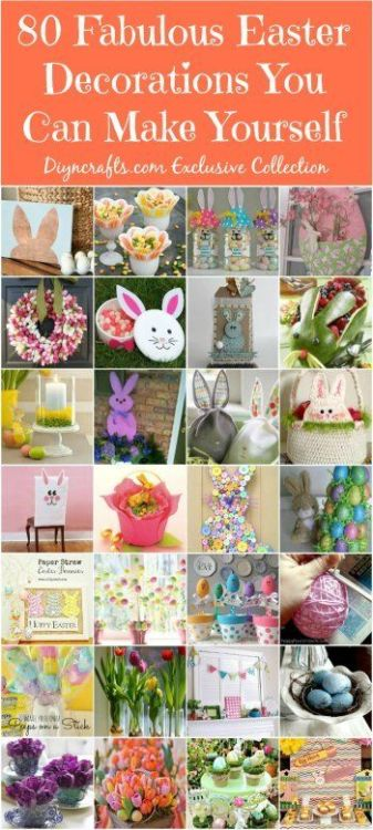 80Easter decor