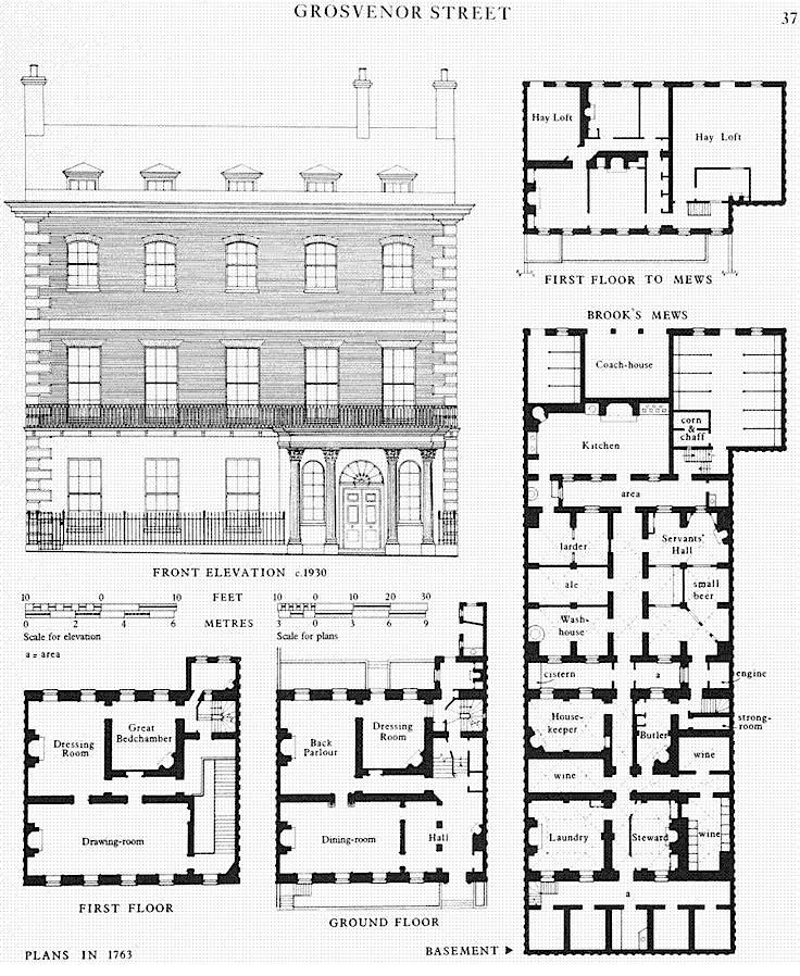 Look inside a georgian townhouse sharon lathan novelist for Plans for townhouses