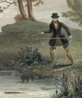 Fishing as a Georgian Era Sport