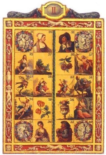 Cavagnole game board