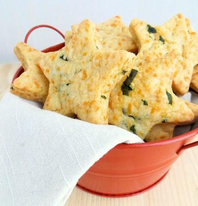 Parmesan-Cheddar-Basil-Stars