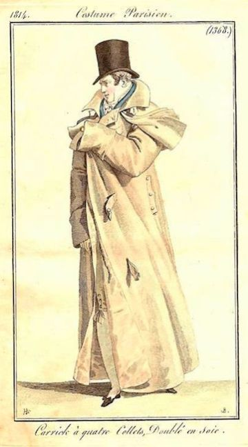 1814 costume parisien