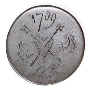 "Georgian Era Coin ""Love Tokens"""