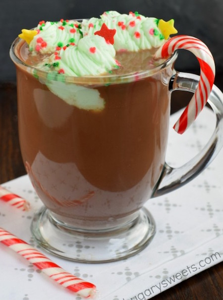 Hot Chocolate Garnishes