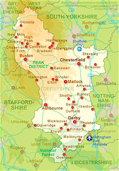 Touring Derbyshire