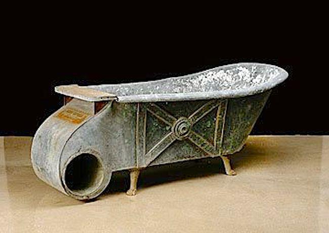 Hungarian Zinc Bathtub
