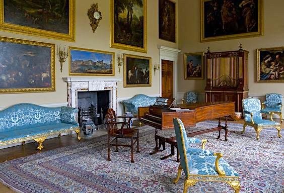 Music Room at Kedleston Hall, Derbyshire