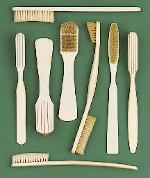 toothbrushes ivory