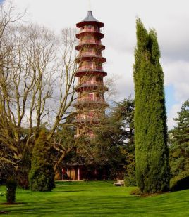 Pagoda at Kew Gardens, London, 1761