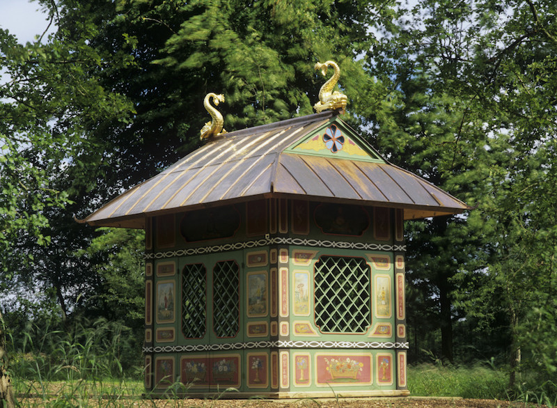 The Chinese House at Stowe Landscape Gardens, Buckinghamshire