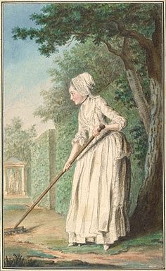 Groundskeepers on a Georgian Estate