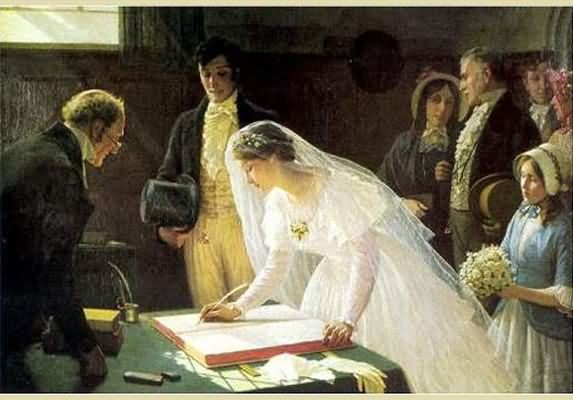 Regency Marriage ~ The Vows & The Celebration!