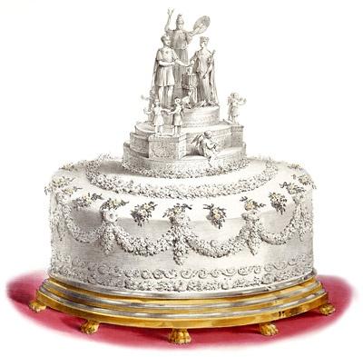 Queen Victoria S Wedding Cake Weight