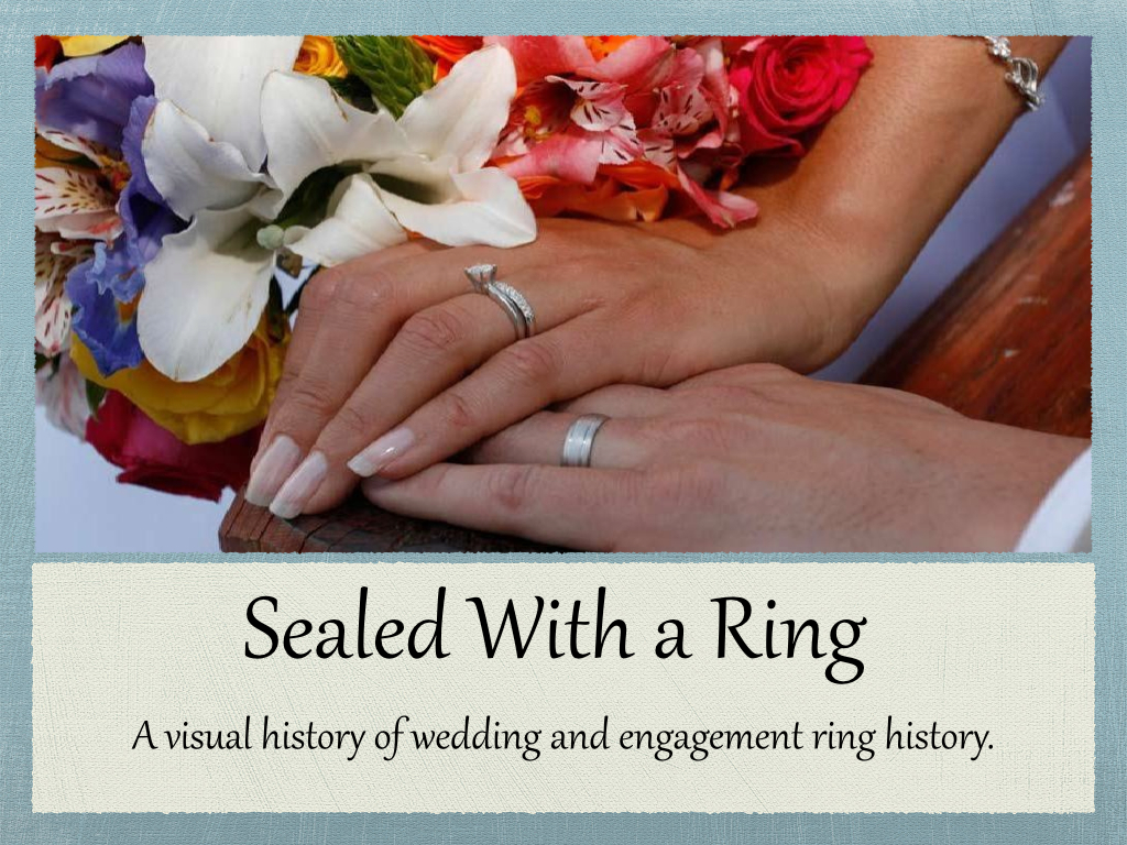 Love Sealed With a Ring