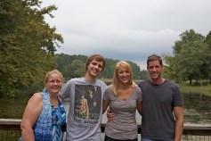 Sharon, Kyle, Emily, & Neil at Bernheim Forest.