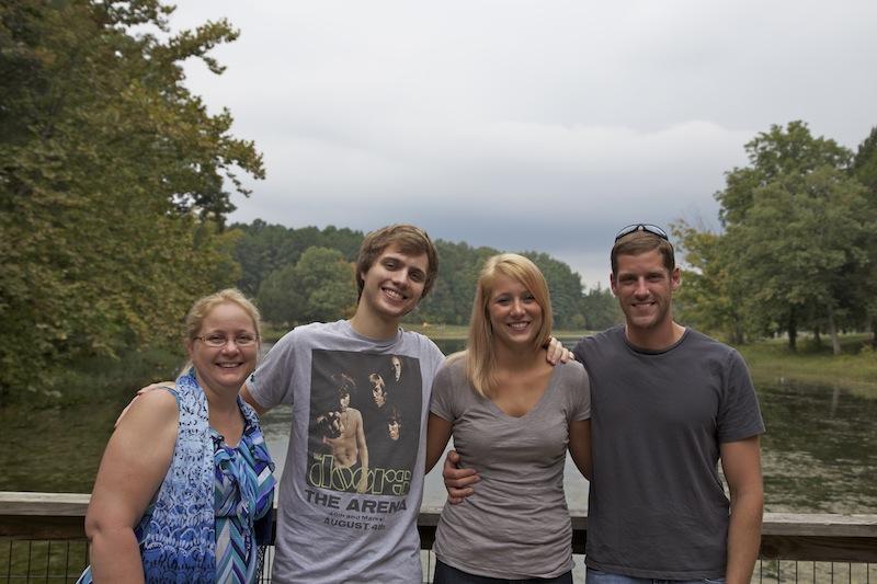 Sharon, Kyle, Emily, & Neil at Bernheim Forest.