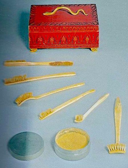 dental hygiene set