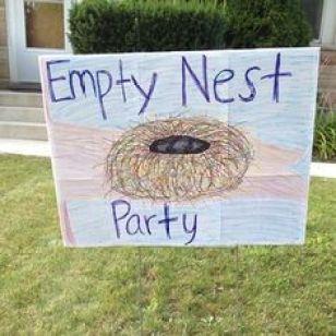 Empty nest sign