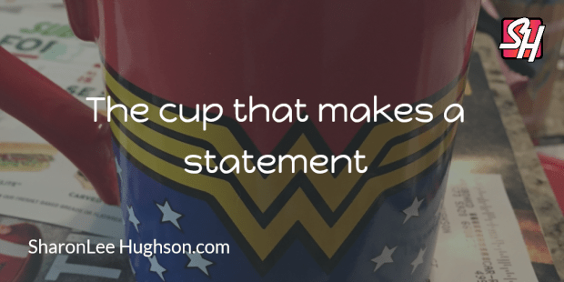 Day 275: Drinking coffee like a superhero.