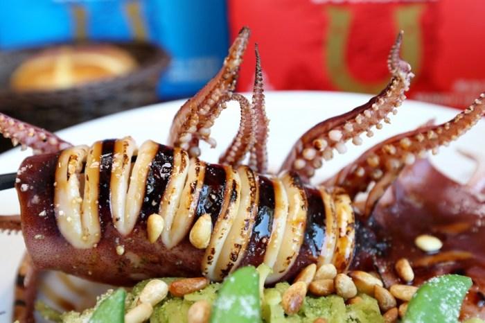 台中東山路美食 90小餐館 平價用心的溫馨小店  墨魷大隻好好吃 咖哩蛋包飯超日式風