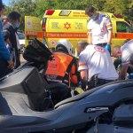 תאונת אופנוע בהרצליה 27.12.2020