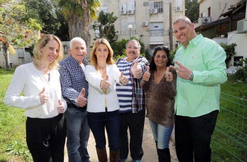 תושבי מתחם פינוי בינוי בשכונת נווה ישראל בהרצליה