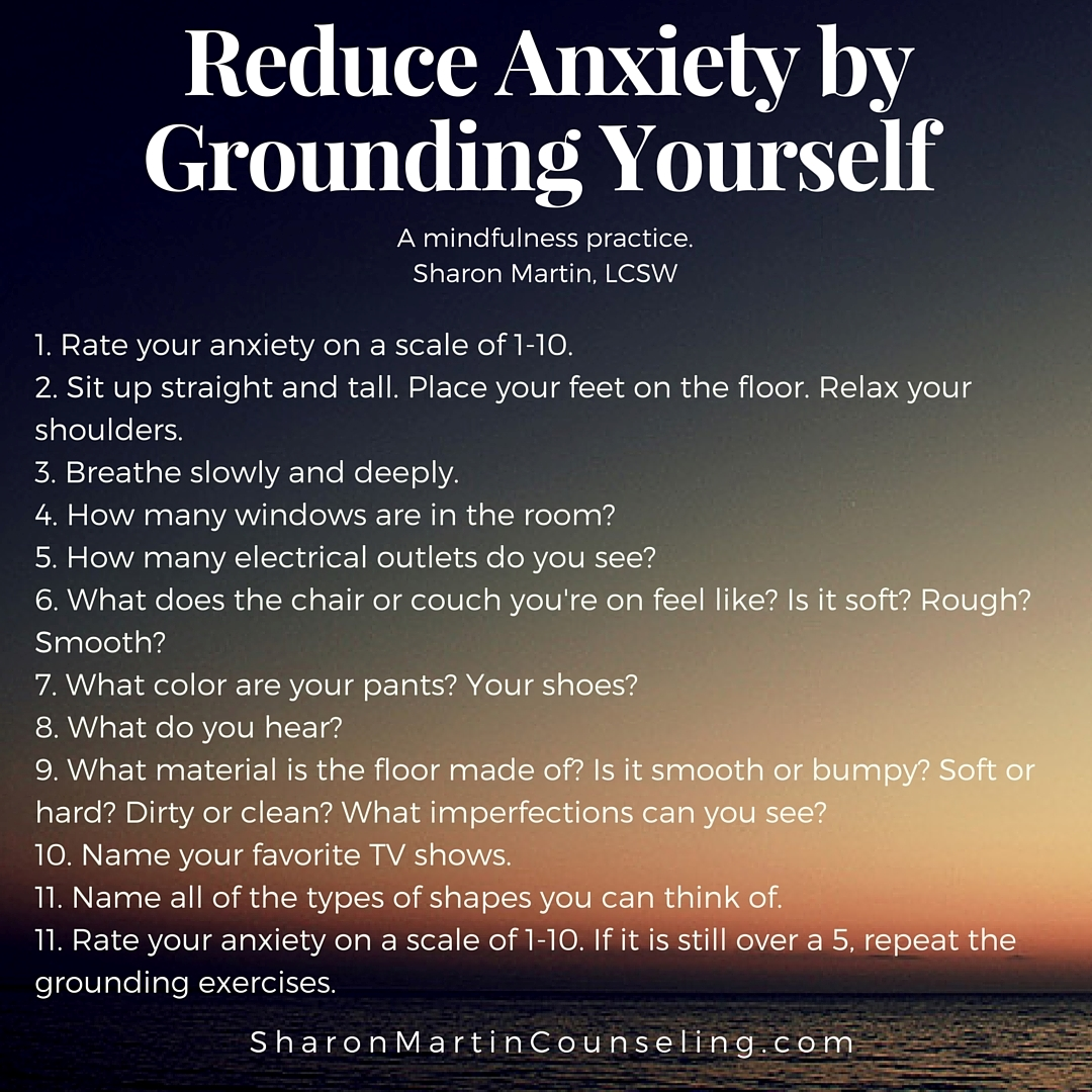 A Practice To Reduce Anxiety