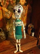Mexican Skeleton Doll my daughter Freya made for me!
