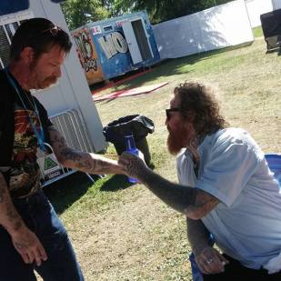 Jesse with Brent from Mastodon