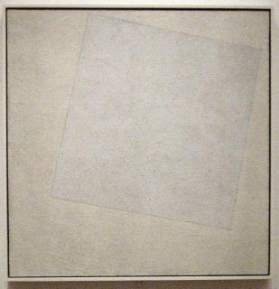 Suprematist Composition: White on White, 1918,