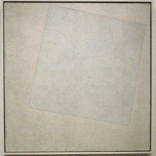 Suprematist Composition: White on White, 1918,