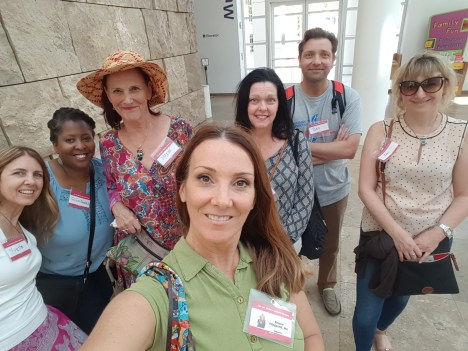 Part of my Art History Channel Meetup group at the Getty Center, Sept 10th