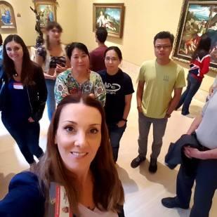 My Art History Meetup Group at the Norton Simon Museum, Nov 5th 2016