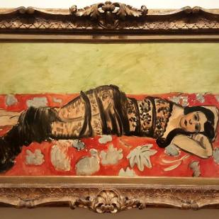 The Black Shawl, Matisse