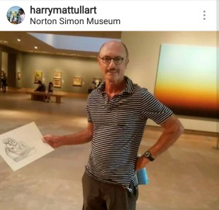 Ep 2 Guest, Harry Mattull. Check out his art on Instagram at @harrymattullart