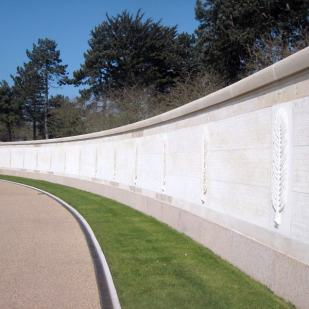 Wall of the Missing in the American Cemetery