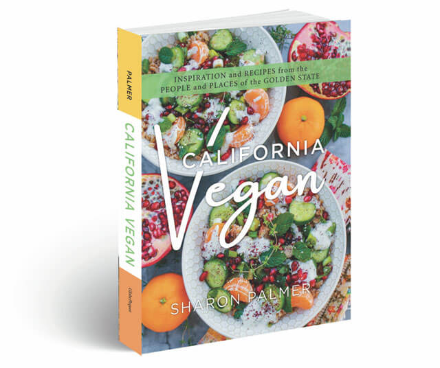 California Vegan 3d Book Image By Sharon Palmer
