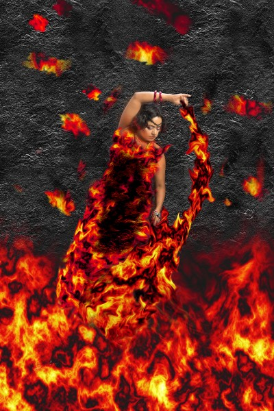 Fire Goddess ©Sharon Popek