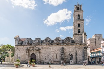 Basilica and Monastery of San Francisco de Asis by Sharon Popek