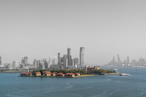 Ellis Island by Sharon Popek