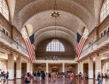 Main hall in Ellis Island