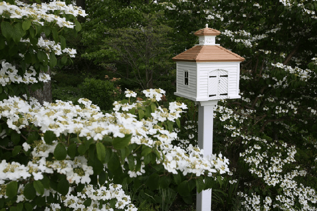 We Start The Month With Virginia Who Sells These Stunning Garden Birdhouses.