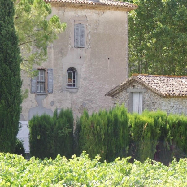 old bastide, the traditional square homes of the south of France