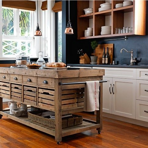 island with seating in kitchen