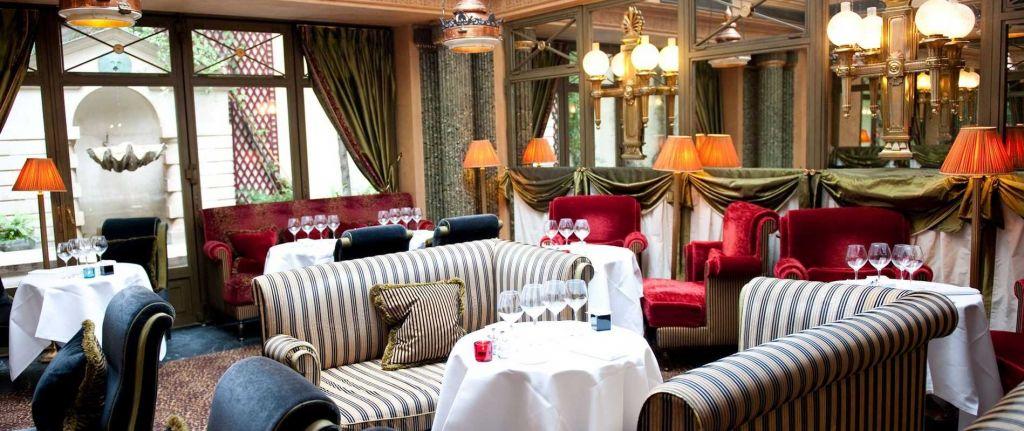 le restaurant, l'hotel, jardin de luxembourg